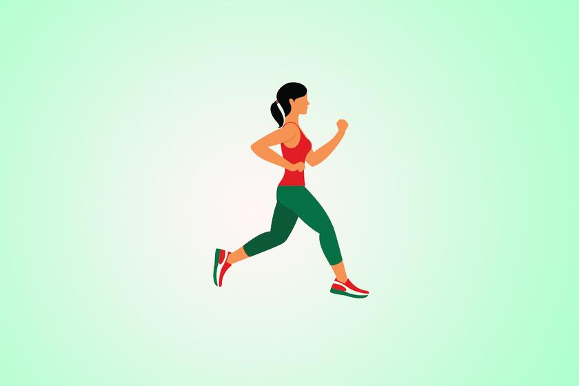 Bemelegítésként fuss helyben először lassabban, majd intenzív sprintben két-két percen keresztül úgy, hogy a sarkadat nem teszed le közben, végig lábujjhegyen lépsz.