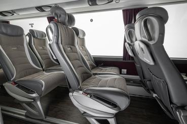 Így kell kinéznie manapság egy luxusbusz belsejének