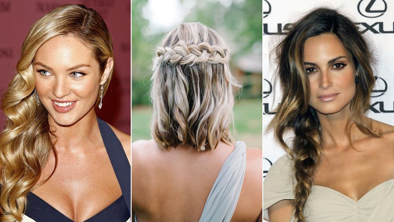 e6916f47f3 A legyegyszerűbb frizurák, ha nyári esküvőre vagy hivatalos - Ékszerekkel  mutatjuk
