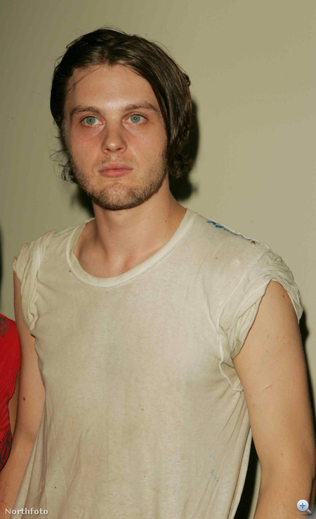 2005-ben, sötétebb (vagy csak koszos?) hajjal, a Last Days bemutatóján