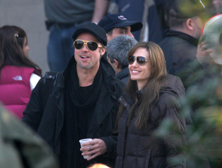 Jolie és Pitt Budapesten