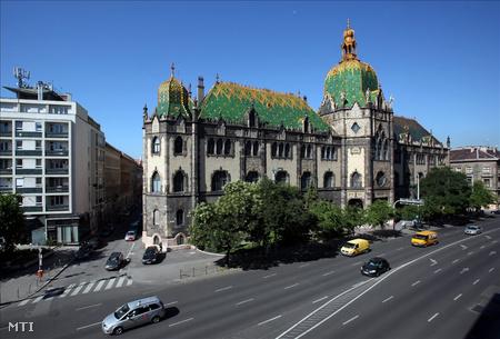 Az Iparművészeti Múzeum épülete (Fotó: Mohai Balázs)