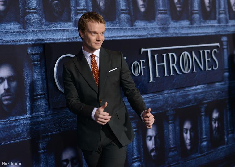 Ellentétben Alfie Allennel, a sorozat Theon Greyjoyával