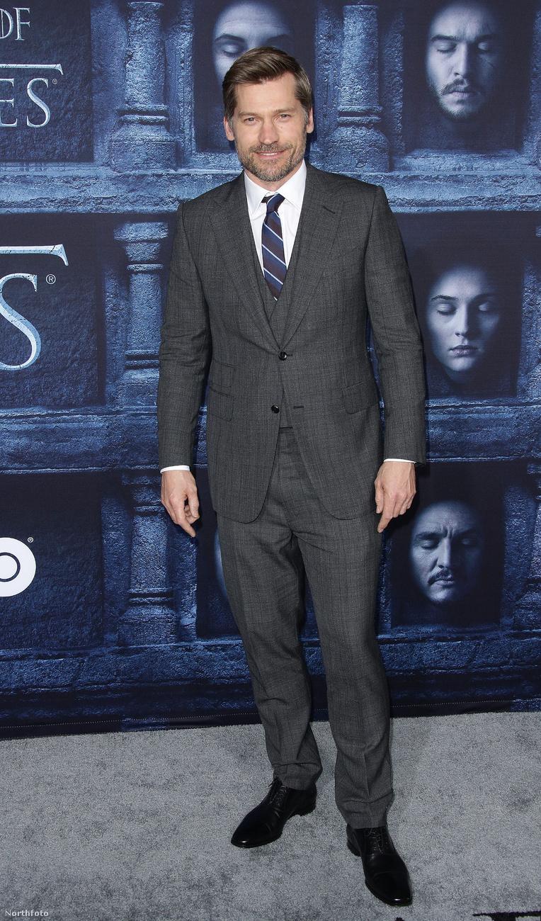Nikolaj Coster-Waldau, aki a sorozatban csak Jaime Lannister, tavaly így jelent meg.