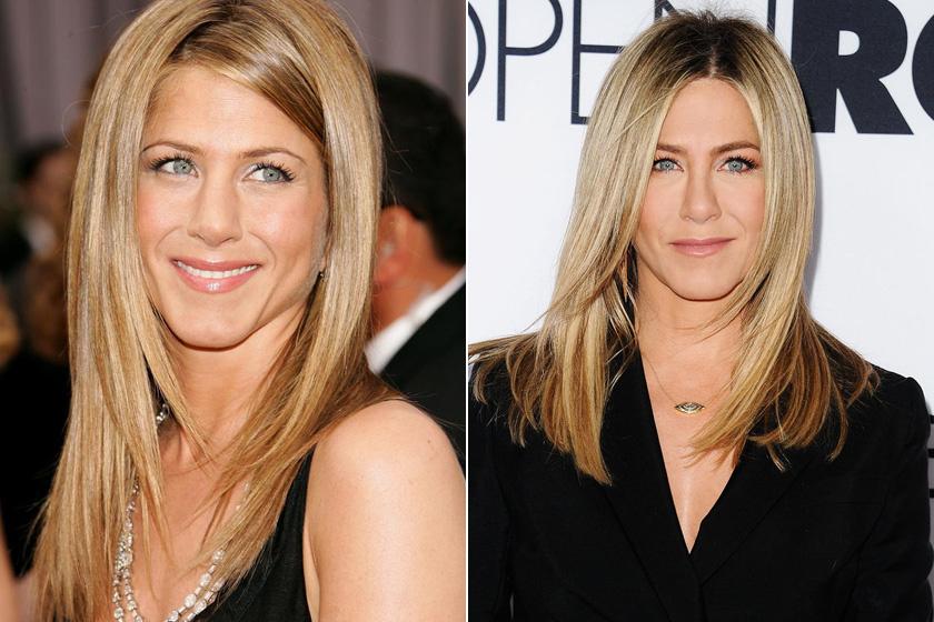 Jennifer Aniston szinte semmit nem változott az elmúlt két évtizedben - te elhinnéd róla, hogy már 48 éves?