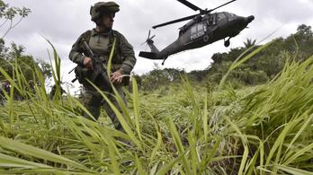 Különleges amerikai katonai egység segíti Kolumbiában a kábítószer elleni harcot