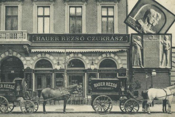 A Hauer fénykorában: még a szállítójárművek is brandelve voltak
