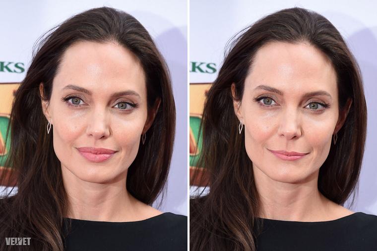 ...ha mondjuk Angelina Jolie-t keskenyebb ajkakkal ismerte volna meg a világ? Vajon akkor is ilyen híres lenne? Oké, talán nem lenne ennyire kacsaszájú, mindenesetre nehéz elképzelni.
