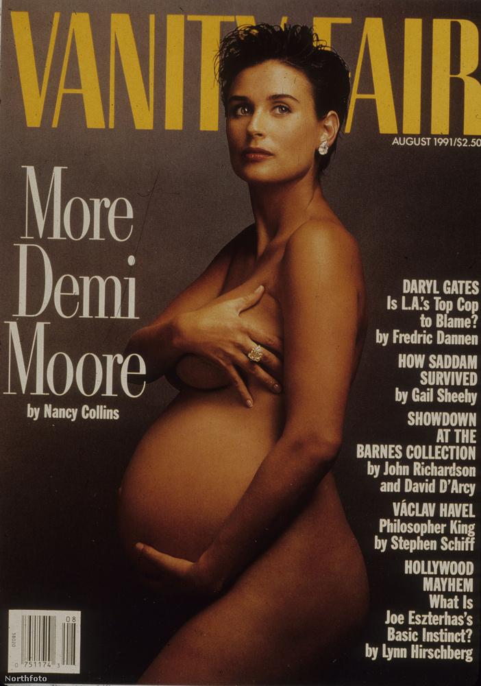 Demi Moore, 1991Minden ezzel a címlappal kezdődött