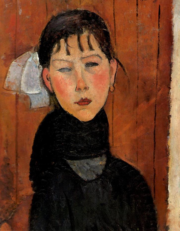 Modigliani: Marie, a nép leánya