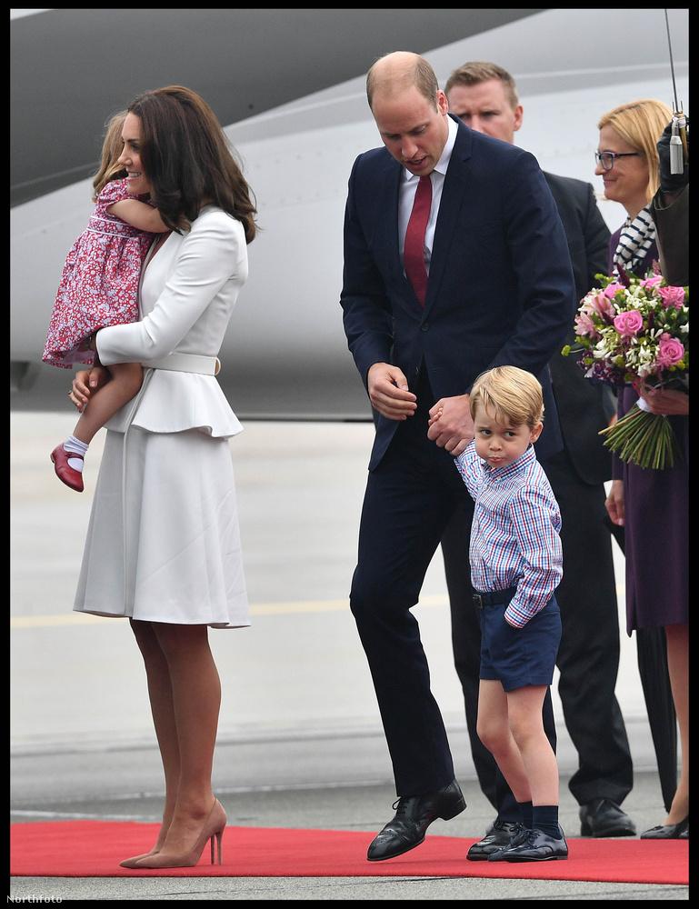Főleg György herceg és az ő grimaszai voltak ismét középpontban.