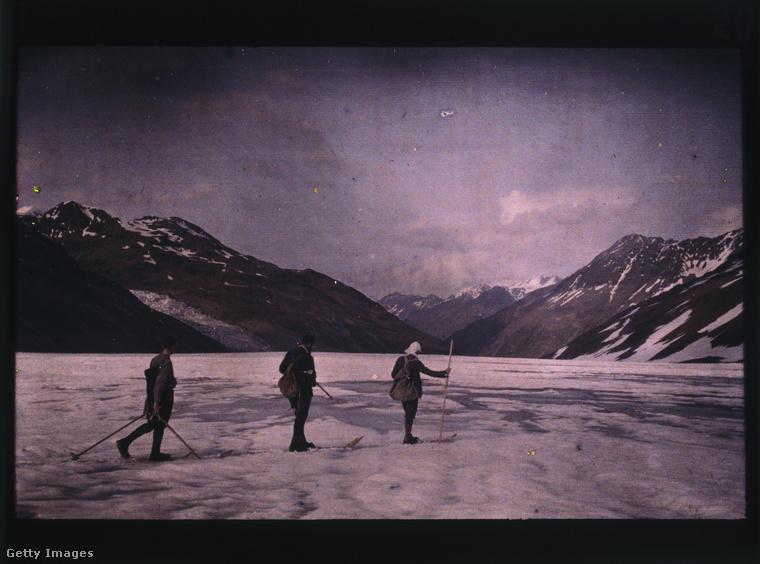 Ez a kép például 1912-ben készült Ötztalban, Ausztriában