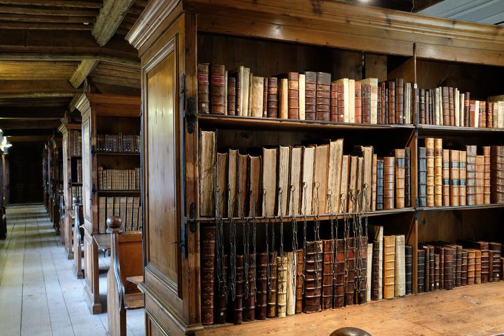 A wellsi könyvtár