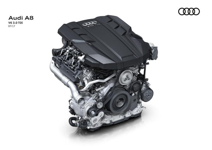 Villanyturbó nincs a V8 TDI-ben, a változó szelepvezérléssel kapcsolgatják a második turbót