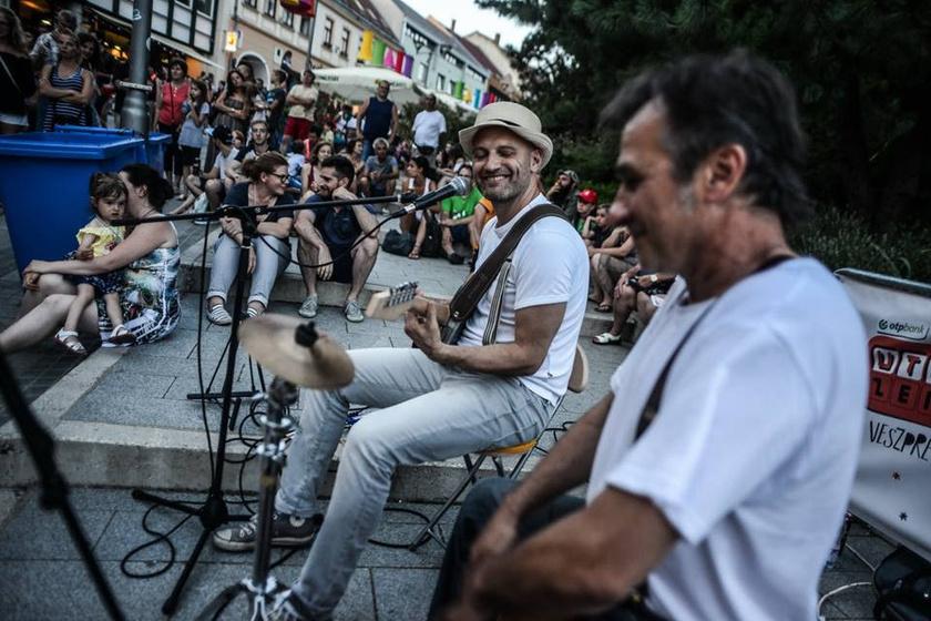 Pillanatkép a tavalyi Utcazene Fesztiválról