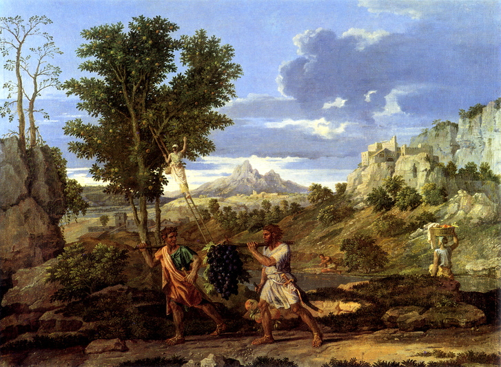 Nicolas Poussin Négy évszak (1660–64) - Ősz