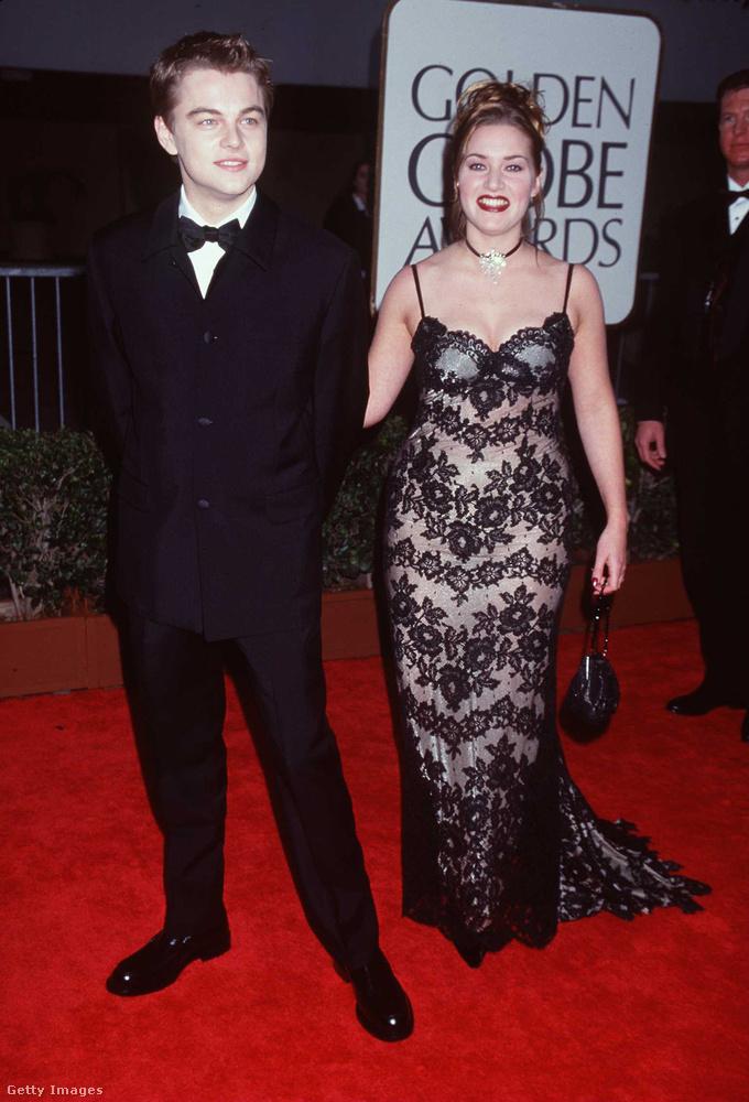 Persze akkor a legszembetűnőbb a különbség, ha megnézzük őket akkor (DiCaprio 23, Winslet 22 itt),