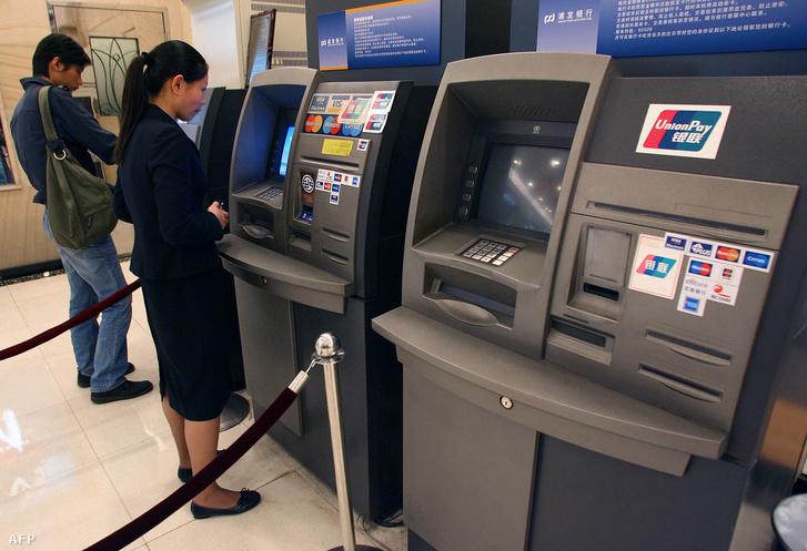 Az ATM-eknél sincs már sor