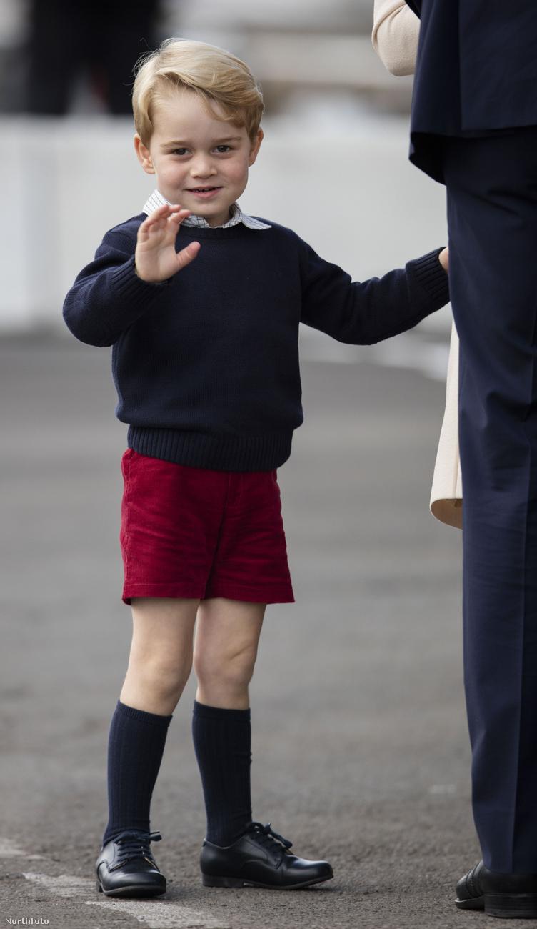 Most is csak azért integetek, mert úgy akarom.György herceg egyedülálló személyisége vitathatatlan, és higgye el, az évek során ez egyre csak csúcsosodni fog.