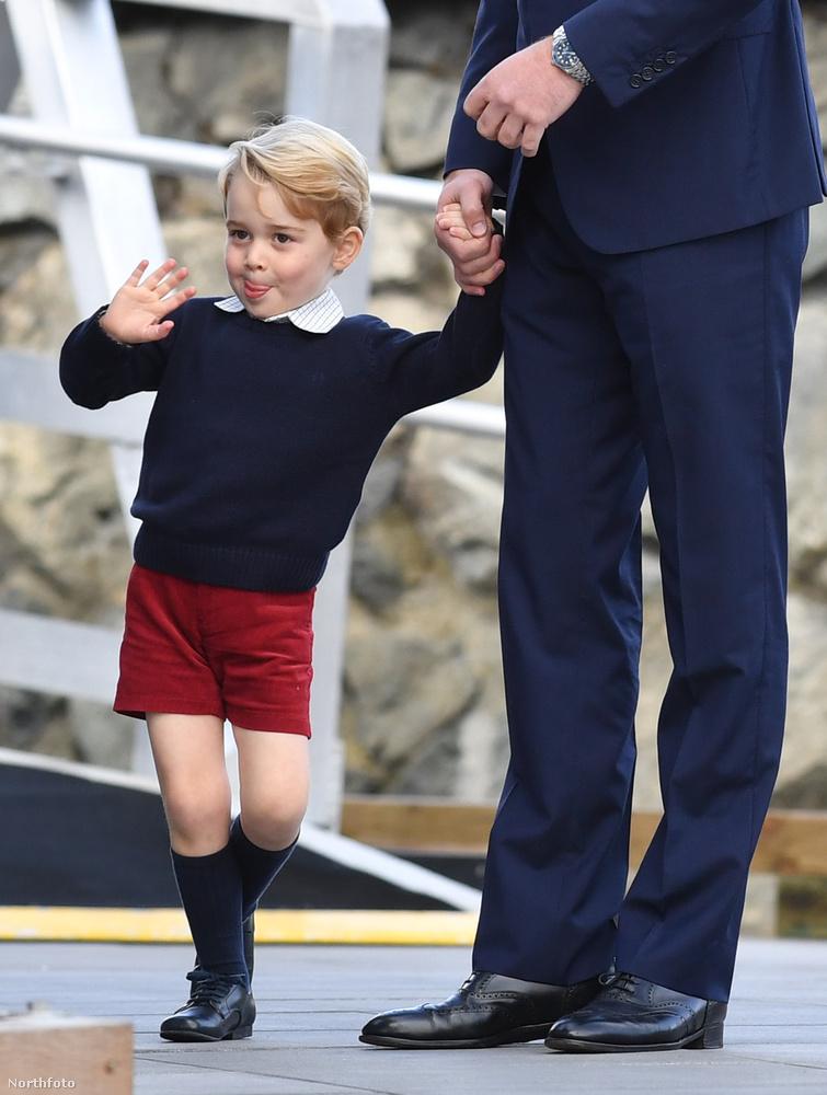 Lévén, György herceg egyelőre igencsak gyerekkorban van, mindent kibír, pláne, ha kellőképp szórakoztatva van