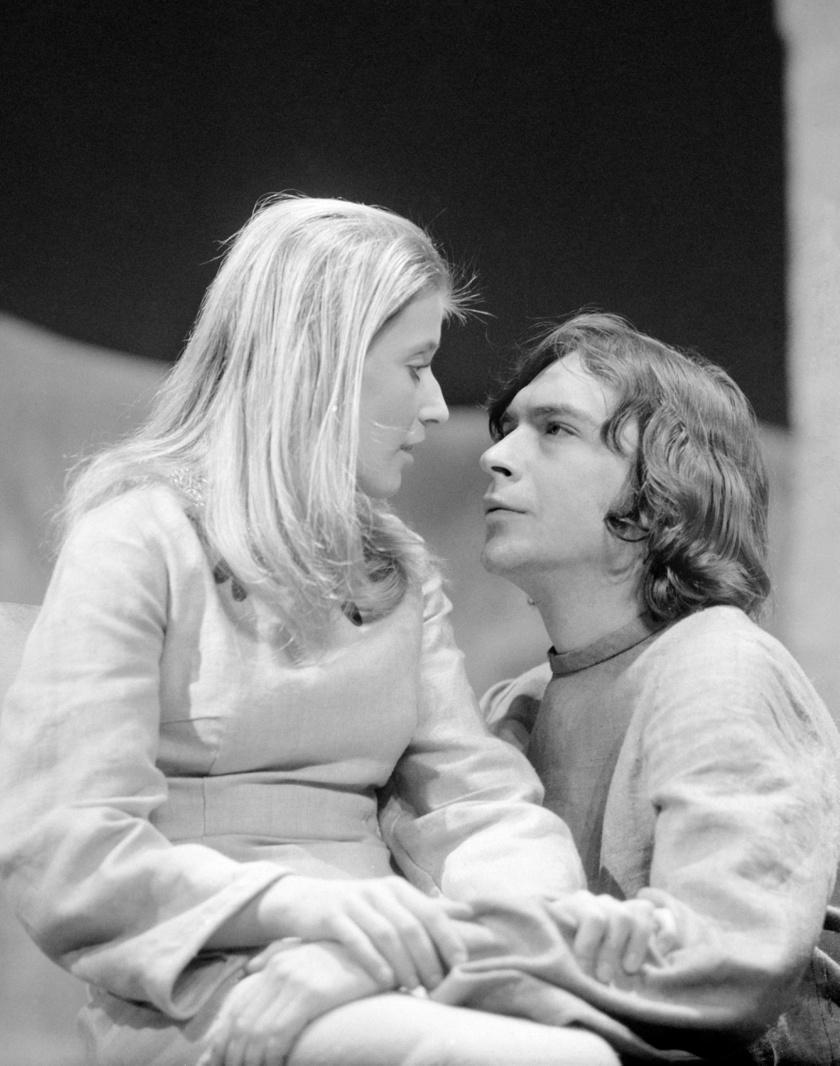 Lukács Sándor és Kútvölgyi Erzsébet 1972-ben.