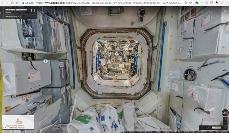 Ehhez hasonló képeket lehet nézegetni az űrállomásról.