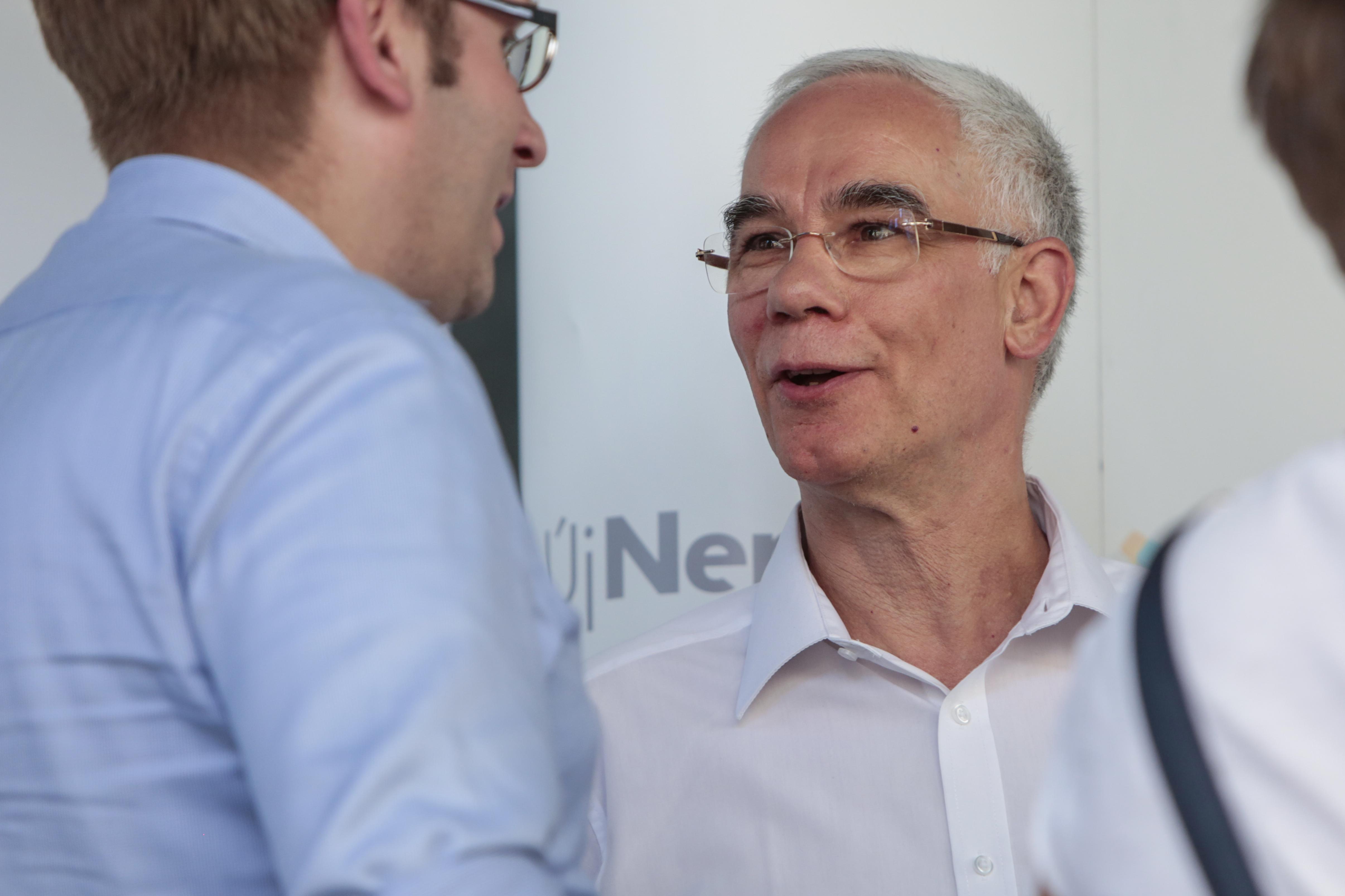 Balog Zoltán, az emberi erőforrások minisztere Tusnádfürdőn