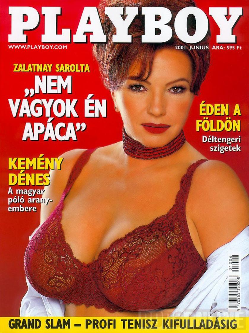 Zalatnay Sarolta fotósorozata 2001 júniusában szerepelt a Playboyban. 53 évesen mondott igent a felkérésre.