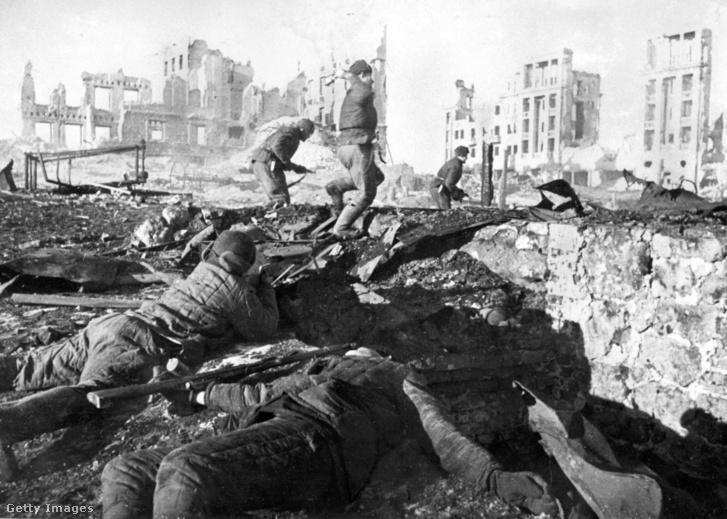 Sztálingrád, 1942-ben.