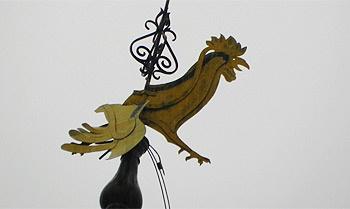 A lefittyedt szélkakas (fotó: beol.hu)