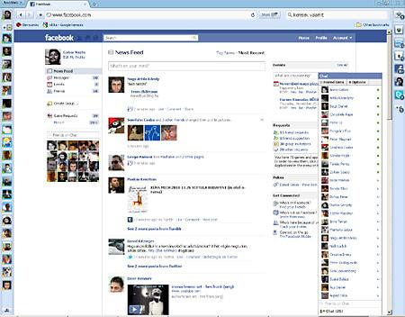 Aszinkron: mást mond a Facebook, mást a Rockmelt.