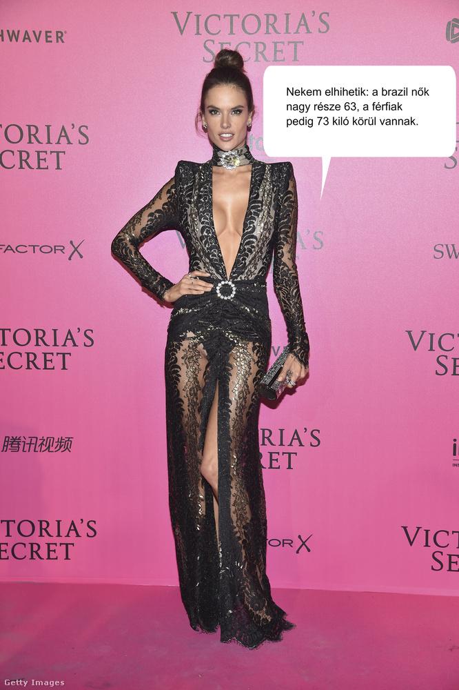 Alessandra Ambrosio Brazíliában született, majd sikeres Victoria's Secret modell lett belőle