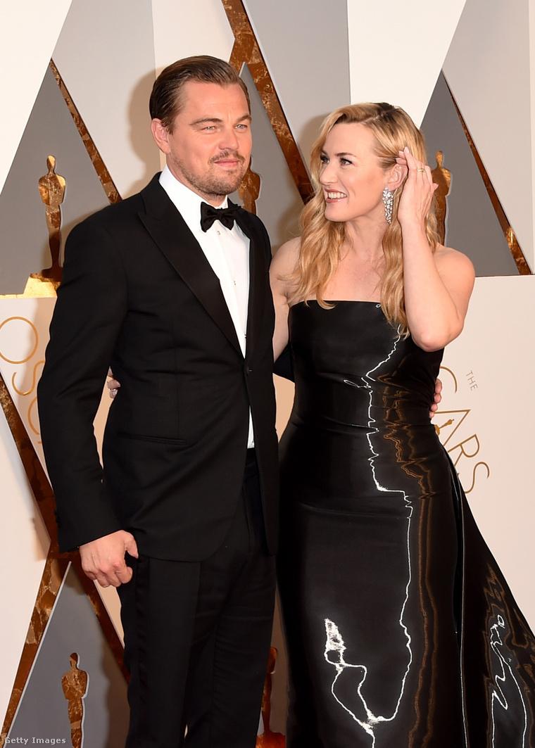 Leonardo DiCaprio és Kate Winslet.