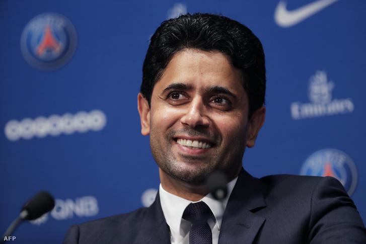 Nasser Al-Khelaifi, a PSG tulajdonosa