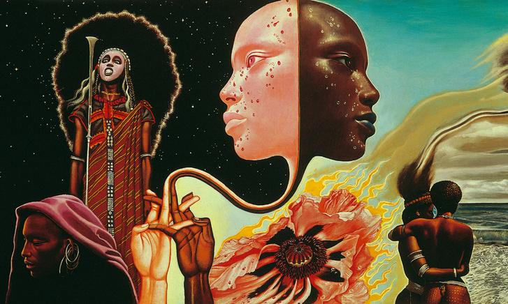 Miles Davis: Bitches Brew című albumának borítója