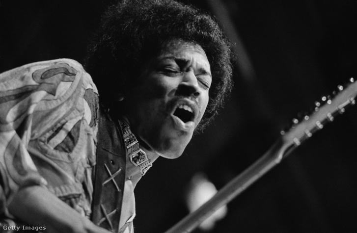 Jimi Hendrix 1970-ben