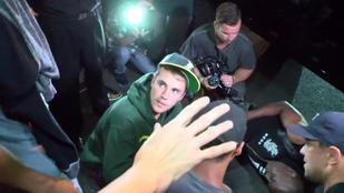 Justin Bieber elütött egy fotóst