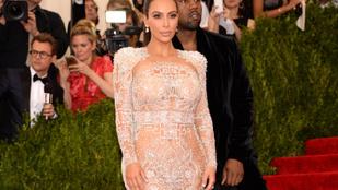 6 hónap múlva megszületik Kim Kardashian és Kanye West harmadik gyereke