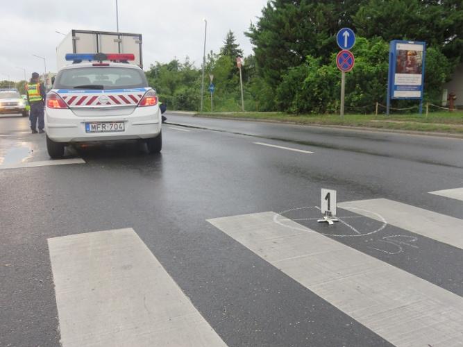 A baleset helyszíne július 27-én.