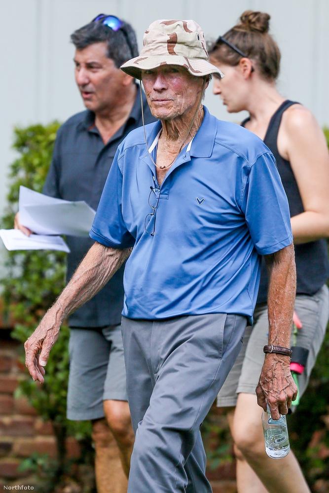 Clint Eastwood egyébként 87 éves, úgyhogy nem semmi teljesítmény tőle, hogy még mindig dolgozik