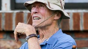 Clint Eastwood 87 évesen még mindig rendez, ráadásul nem is akármit