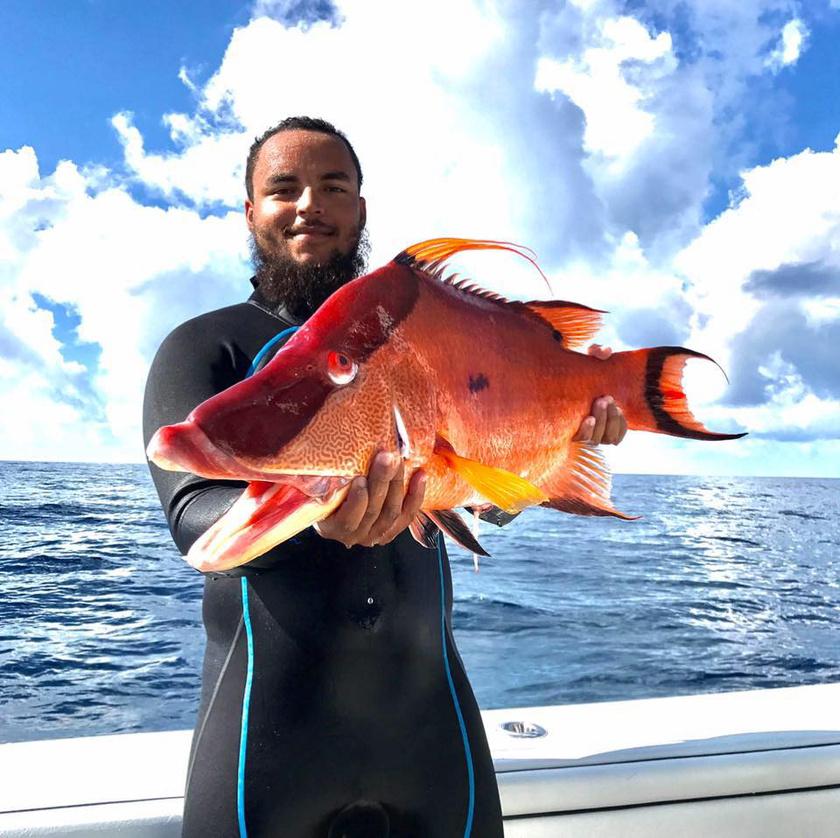 """""""Sokat horgásztunk, amikor kicsi voltam. A legnagyobb hal, amit sikerült kifognom, egy 110 kilós tonhal volt - tízéves voltam ekkor"""", mesélte Connor Cruise."""