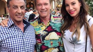 Vajna Tímea most Arnold Schwarzeneggerrel került mély, baráti viszonyba
