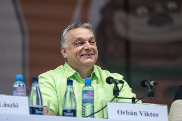 Orbán Viktor Bálványoson