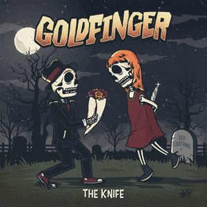 goldfinger the knife album cover ghost cult