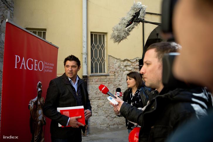 Csizmadia Norbert PAGEO elnök