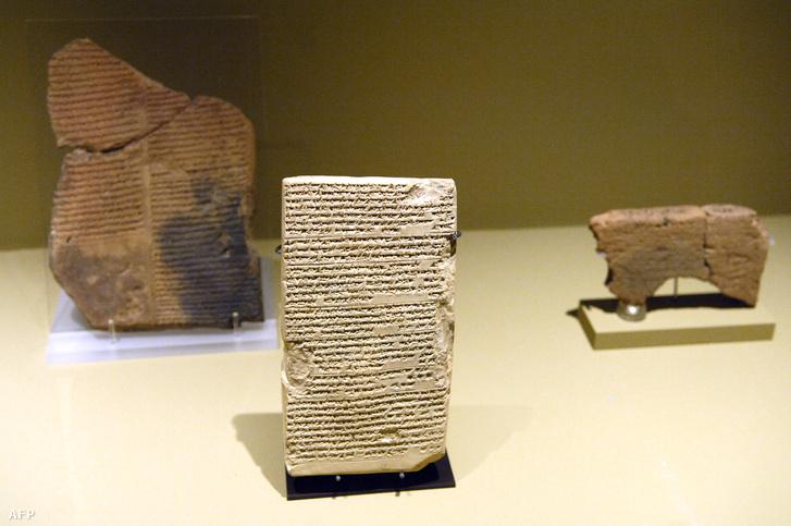 Ékírásos babiloni agyagtáblák