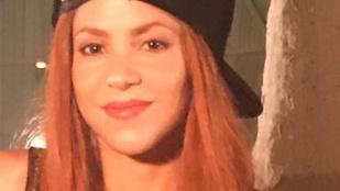 Bréking: Shakira hajszínt váltott
