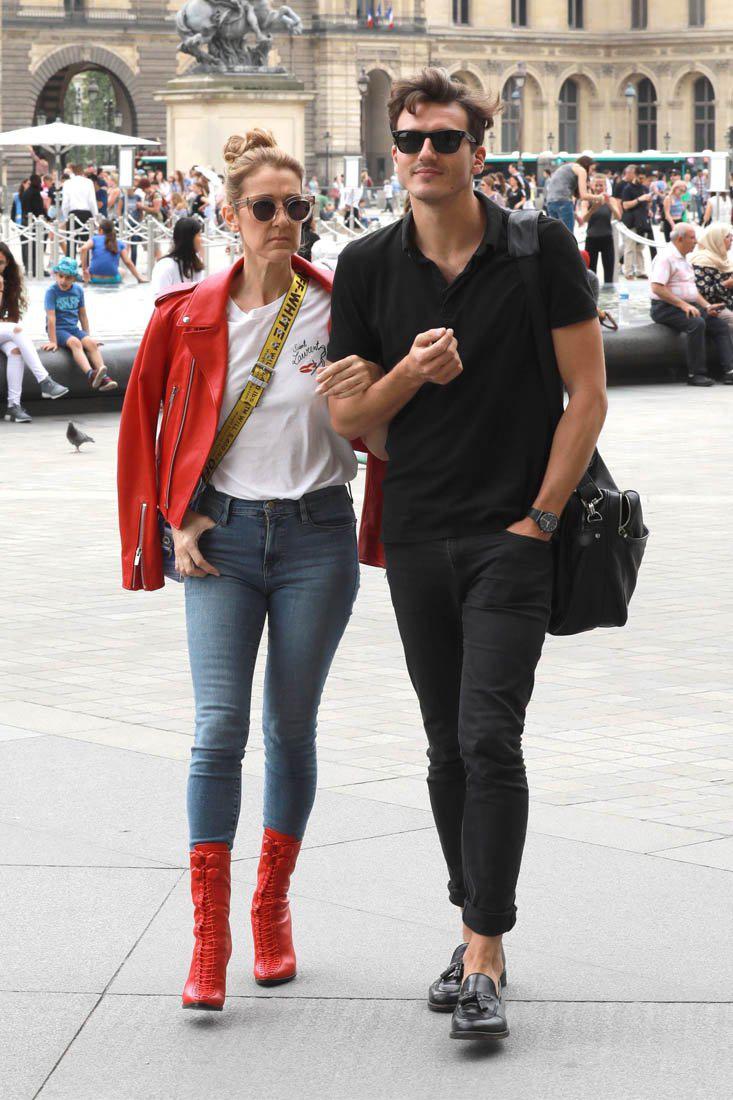 Celine Dion és Pepe Munoz Párizsban