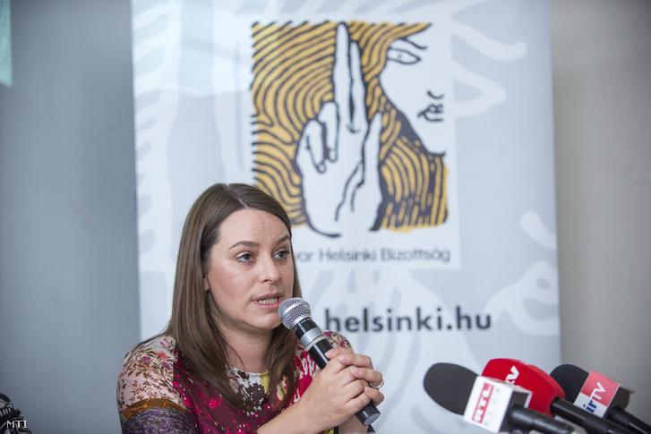 Pardavi Márta, a Magyar Helsinki Bizottság társelnöke